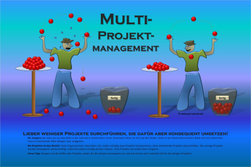 Poster Multiprojektmanagement